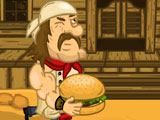 Бешеный бургер 3 дикий Запад