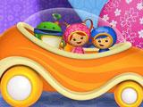 Умизуми в автомобиле