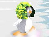 Пингвиненок на сноуборде