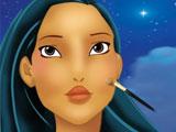 Покахонтас макияж