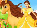 Уход за лошадью Белль
