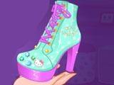 Хелло Китти дизайн обуви