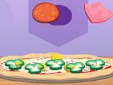 Время Джастина: Готовим пиццу