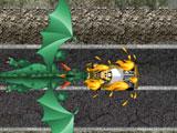 Хот Вилс: Побег от дракона