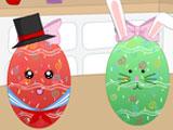 Украшение пасхального яйца 2