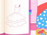 Дизайн платья для Хелло Китти