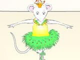 Ангелина балерина танцует