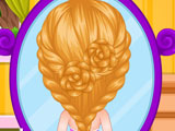 Детские косы-цветы