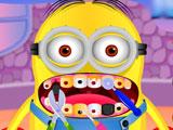 Миньон у стоматолога