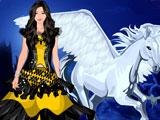 Одевалка: Принцесса и Пегас