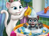 Помыть ребенка Анжелы