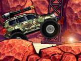 Военный боевой грузовик