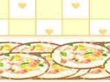 Моем посуду в пиццерии