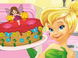 Динь-Динь готовит торт