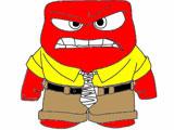 Головоломка: Раскрасить Гнев
