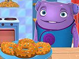 Дом: О готовит пончики