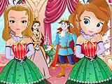 Принцессы София и Эмбер: подружки невесты
