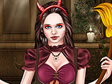 Хеллоуин макияж для девушки