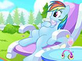 Новорожденный пони