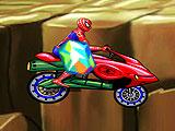 Человек-Паук - гонщик по холмам