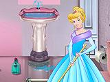 Убрать ванную комнату Золушки