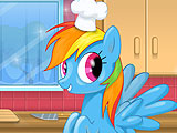 Порыв радуги - приготовление торта M&M's