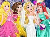 Принцессы Диснея: свадебный салют