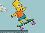 Барт на скейте