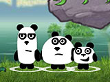 Фантазия трех панд