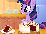 Твайлайт Спаркл - приготовление красного бархатного торта