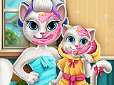 Макияж для Анжелы и ее малыша