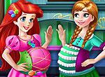 Беременные подруги - Ариэль и Анна