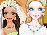 Невеста зимой против невесты летом