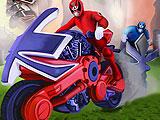 Могучие рейнджеры - мощность мотоциклов