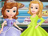 София  и Эмбер готовят десерты