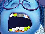 Печаль плачет у дантиста