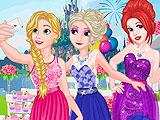 Принцессы подружки невесты