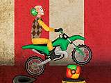 Цирковой байкер