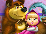 Маша и Медведь на фабрике игрушек