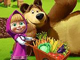 Маша и Медведь на ферме