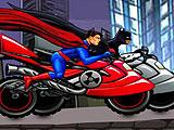 Бэтмен против Супермена - гонки