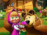 Маша И Медведь - интерьер дома