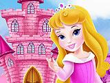 Маленькая Аврора - интерьер замка