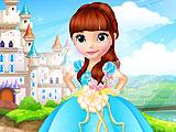 Дизайн свадебного платья для принцессы Софии
