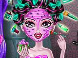 Школа монстров - макияж