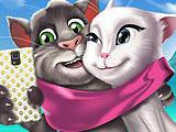 Том и Анжела - время селфи