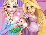Принцессы - интерьер детской
