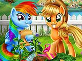 Мой маленький пони - огород