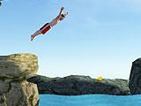 Прыжки в воду с оборотом