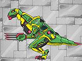 Дино Робот: Теризинозавр